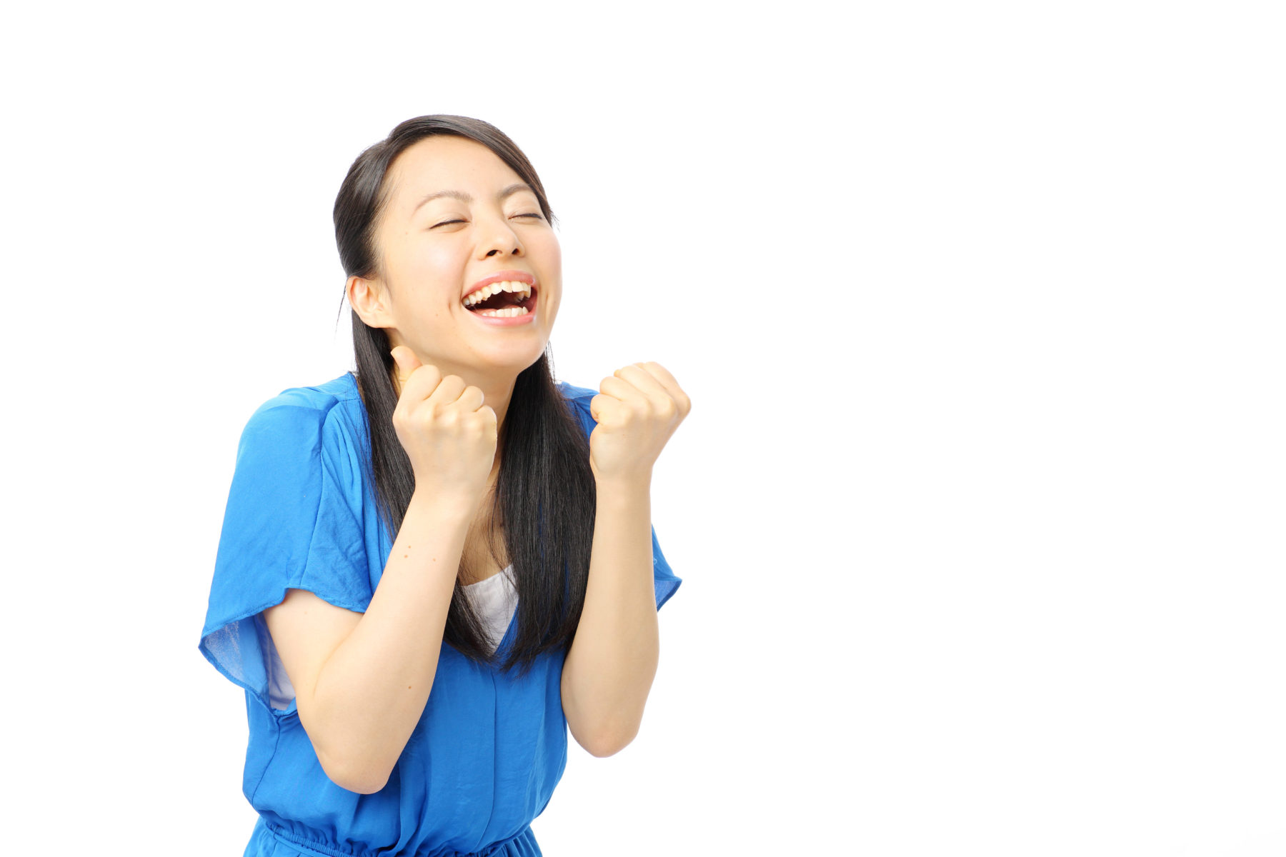 Woman excited about IBLCE score.