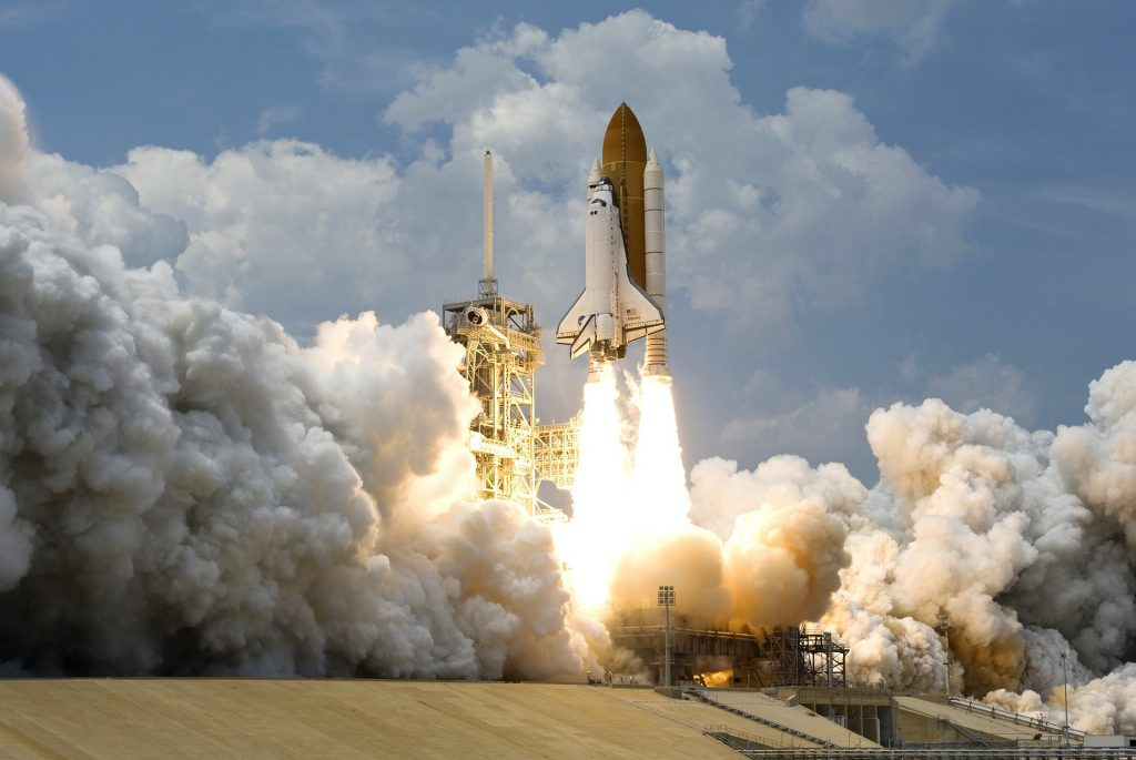 Space shuttle launching; boost your professional development with the 70/20/10 rule