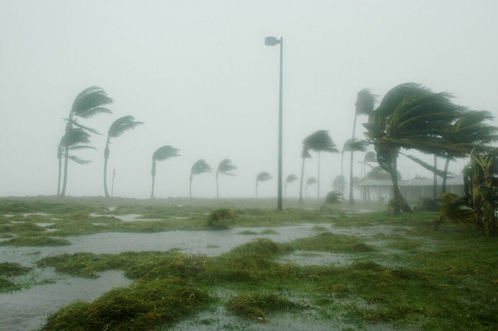 Key West during a hurricane.